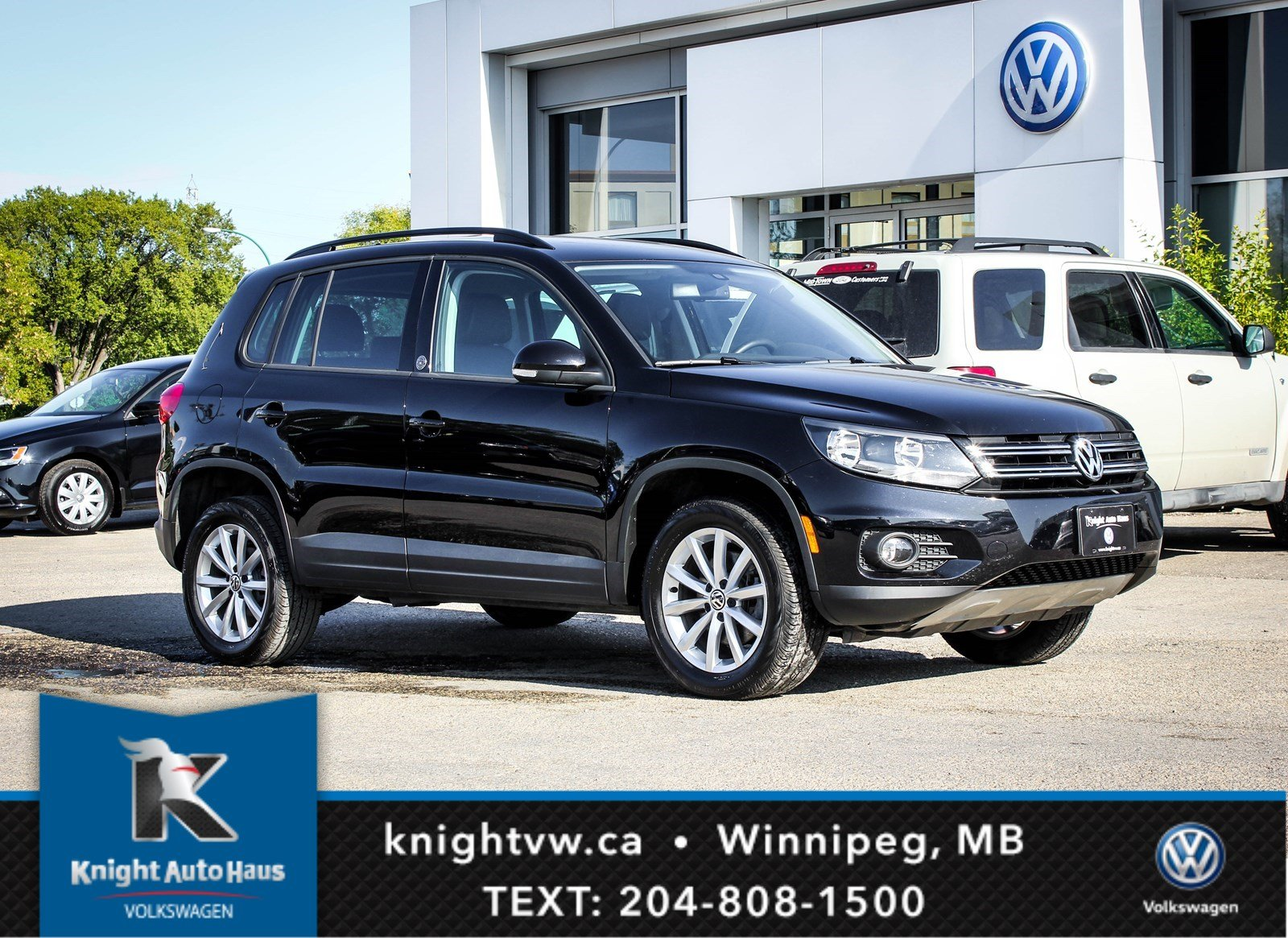 2017 Volkswagen Tiguan Wolfsburg Edition AWD W/ Car Play 0